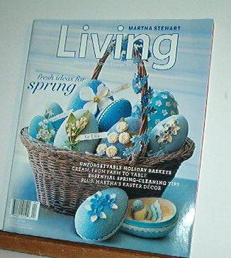 Magazine - Martha Stewart Living - Free Shipping - No. 149  April 2006
