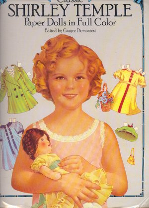 """Book - Coloring Book - SHIRLEY TEMPLE by Grace Piemontesi 2 sizes 21"""" & 10"""" 0486251934"""