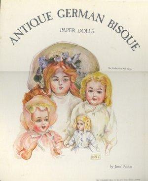 Book - Coloring Book - ANTIQUE GERMAN BISQUE Collector's Art Series Janet Nason