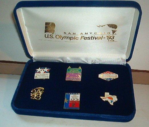 Pin - Collector Pins - San Antonio Texas US Olympic Festival 1993