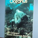 Magazine  - Vintage - OCEANUS Oceanography The Galapagos Vol 30 #2 Summer 1987 Ships Free in US