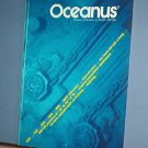Magazine Ships Free in US  Vintage OCEANUS Oceanography Titanic Winter 1985 Vol 28 #4