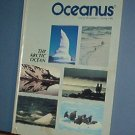 Magazine Ships Free in US  Vintage OCEANUS Oceanography Arctic Ocean Spring 1986 Vol 29 #1