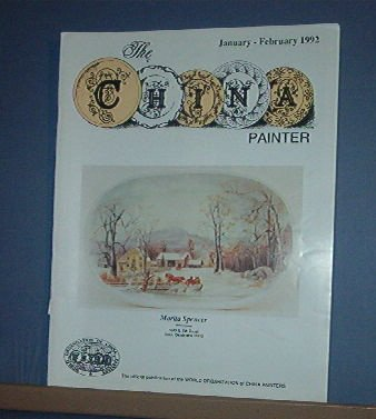 Magazine THE CHINA PAINTER Free Ship in US Porcelain Painting Jan/ Feb 192