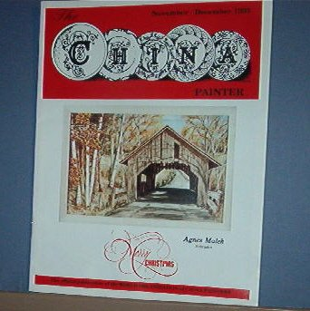 Magazine THE CHINA PAINTER Free Ship in US Porcelain Painting  Nov/Dec 1993