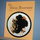 Magazine THE CHINA DECORATOR Free Ship in US Porcelain Painting October 1994