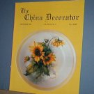 Magazine THE CHINA DECORATOR Free Ship in US Porcelain Painting September 1994