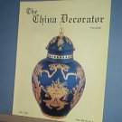 Magazine THE CHINA DECORATOR Free Ship in US Porcelain Painting July 1994