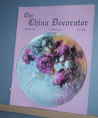 Magazine THE CHINA DECORATOR Free Ship in US Porcelain Painting February 1995