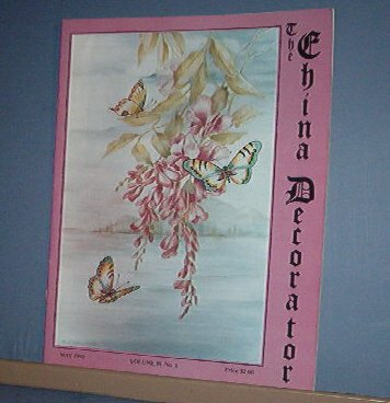 Magazine THE CHINA DECORATOR Free Ship in US Porcelain Painting May 1993