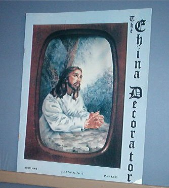 Magazine THE CHINA DECORATOR Free Ship in US Porcelain Painting April 1993