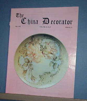 Magazine THE CHINA DECORATOR Free Ship in US Porcelain Painting May 1999