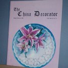 Magazine THE CHINA DECORATOR Free Ship in US Porcelain Painting Jan/ Feb 2000