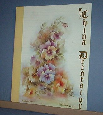 Magazine THE CHINA DECORATOR Free Ship in US Porcelain Painting March/April 2000