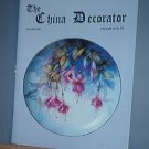 Magazine THE CHINA DECORATOR Free Ship in US Porcelain Painting May/June 2001