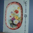 Magazine THE CHINA DECORATOR Free Ship in US Porcelain Painting July/August 2002