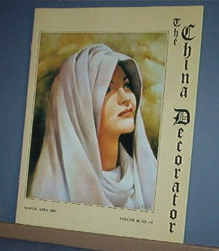 Magazine THE CHINA DECORATOR Free Ship in US Porcelain Painting March April 2003