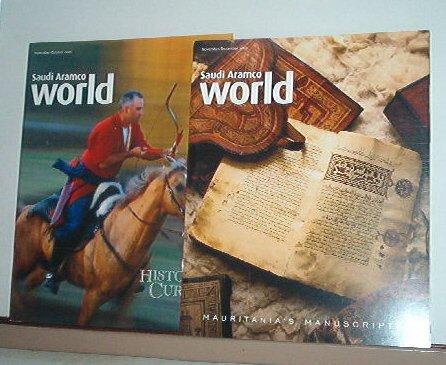 Magazines - Saudi Arabian ARAMCO WORLD - All Like New - 2 issues for 2003
