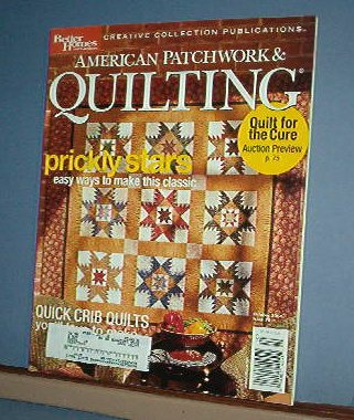 Magazine - BH&G American Patchwork & Quilting Sewing Patterns Oct 2004 #70