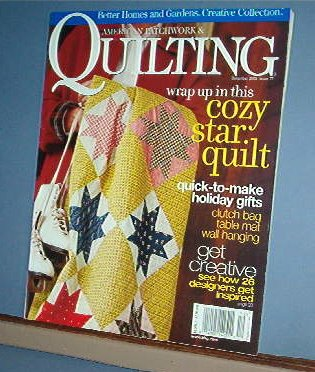 Magazine - BH&G American Patchwork & Quilting Sewing Patterns Dec 2005 #77