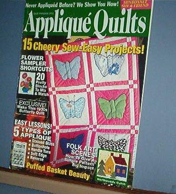 Magazine - Applique Quilts # 41 November 2003 Flower Sampler