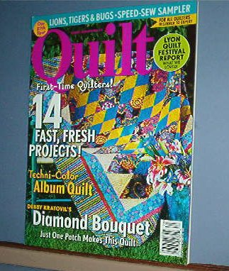 Magazine - Quilt  14 Fast Projects Oct/Nov 2006