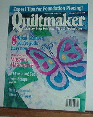Magazine -Quiltmaker No. 72 March April 2000 Museum Pieces
