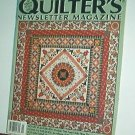 Magazine - Quilter's Newsletter - Quilting, Sewing, Patterns No.277 November 1995