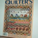 Magazine - Quilter's Newsletter - Quilting, Sewing, Patterns No. 276 October 1995
