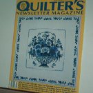 Magazine - Quilter's Newsletter - Quilting, Sewing, Patterns No. 244 July/Aug 1992