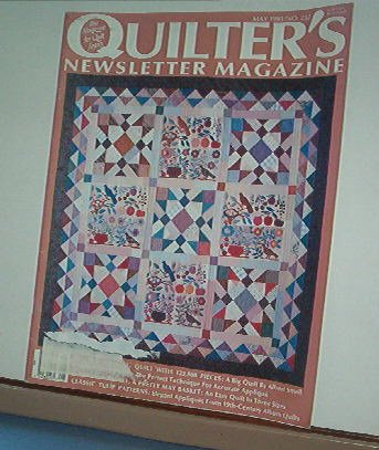 Magazine - Quilter's Newsletter - Quilting, Sewing, Patterns No. 232 May 1991