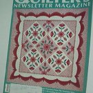 Magazine - Quilter's Newsletter - Quilting, Sewing, Patterns No. 211 April 1989