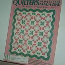 Magazine - Quilter's Newsletter - Quilting, Sewing, Patterns No. 201 April 1988