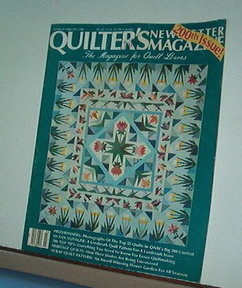 Magazine - Quilter's Newsletter - Quilting, Sewing, Patterns No. 200 March 1988