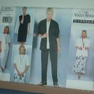 Sewing Pattern  Vogue 2139 Woman Wardrobe 5 pieces size 14 - 18
