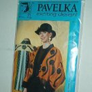 "Sewing Pattern Pavelka Designs PV 41 Rambling Rose Swing Jacket 32 - 60"" bust"