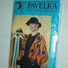 """Sewing Pattern Pavelka Designs PV 41 Rambling Rose Swing Jacket 32 - 60"""" bust"""