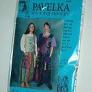 "Sewing Pattern Pavelka Designs PV 48 Fabric Lover's Jumper 32 - 60"" Bust"