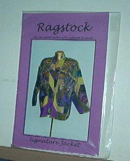 Sewing Pattern Ragstock Signature Jacket Sm Med Lg by Deborah Brunner