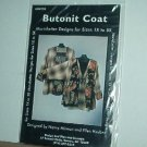 Sewing Pattern Morrisbetter Designs Butonit Coat Sizes 1X - 5X by Nancy Mirman
