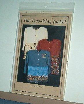 Sewing Pattern Seams & Dreams Two-Way Jacket  Sizes 8 - 20