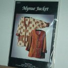 Sewing Pattern Mynue Jacket by Nancy Mirman, Sizes Xsm - XXL