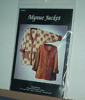 Sewing Pattern Mynue Jacket by Nancy Mirman, Sizes Xsm - XXL