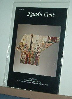 Sewing Pattern Kandu Coat by Nancy Mirman NM235 Sizes Sm - Xlg