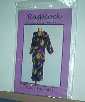 Sewing Pattern Ragstock Tunic Ensemble by Deborah Brunner