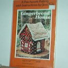 Sewing Pattern Christmas Gingerbread House by Patchwork Patterns