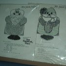 Sewing Pattern Christmas Patchwork Place Mr and Mrs Santa Pillows 14""