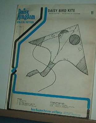 Sewing PatternDaisy Kingdom DAISY BIRD KITE Master Pattern