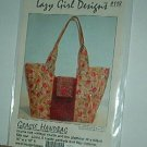 Sewing Pattern Lazy Girl Designs 118 GRACIE BAG Vintage style 10 X 15 flat closure 6 inside pockets