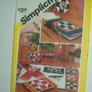 Sewing Pattern Simplicity 6147 Quilted Desk Accessories One Size
